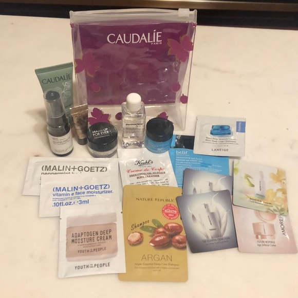 Other - 17 Sample Set + Caudalie Pouch